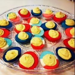 Di's Delicious Deluxe Deviled Eggs Allrecipes.com.....added a tbs. of ...