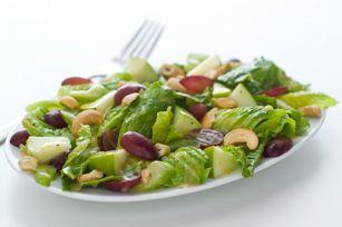 Salade Waldorf à la vinaigrette aux graines de pavot