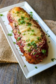 Moms Pizza Loaf: My mom's take on meatloaf--a mixture of ground beef, Italian sausage, and pizza seasonings that stuffed with cheese! This Pizza Loaf tastes nothing like traditional meatloaf but just like pizza and is sure to be a hit with your family as much as it is with mine!