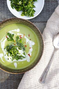 Green Goddess Soup  ConsciousCleanse.com Cleanse friendly Detox Purification