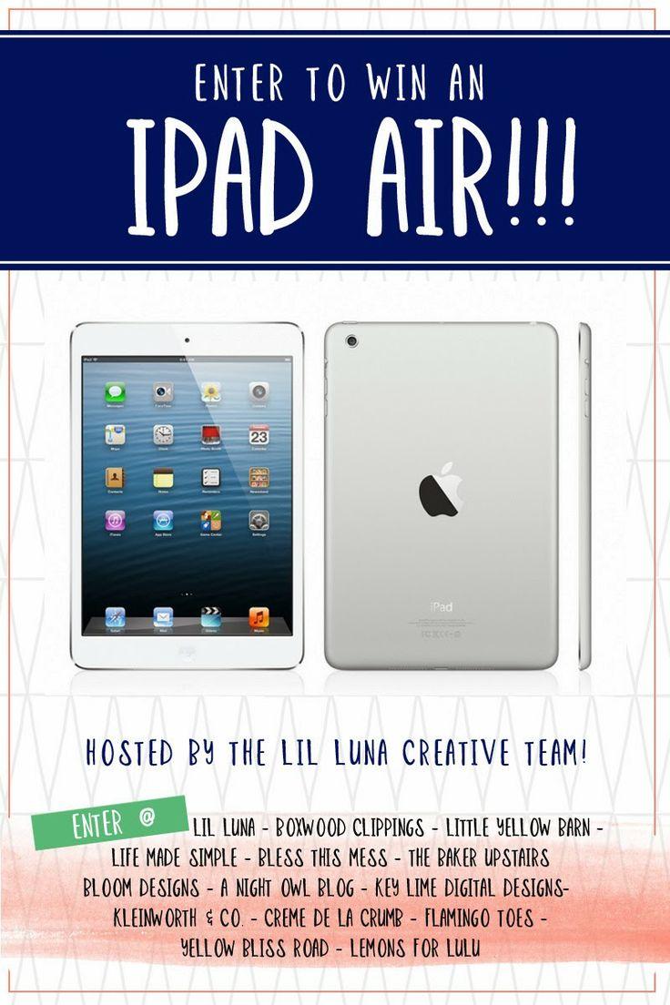 the baker upstairs: iPad Air #Giveaway!
