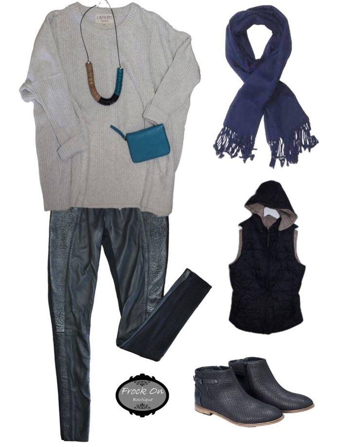 Vest Zest- Papinelle Eb&Ive Betty Basics Elk Accessories Fate Clothing Autumn Style