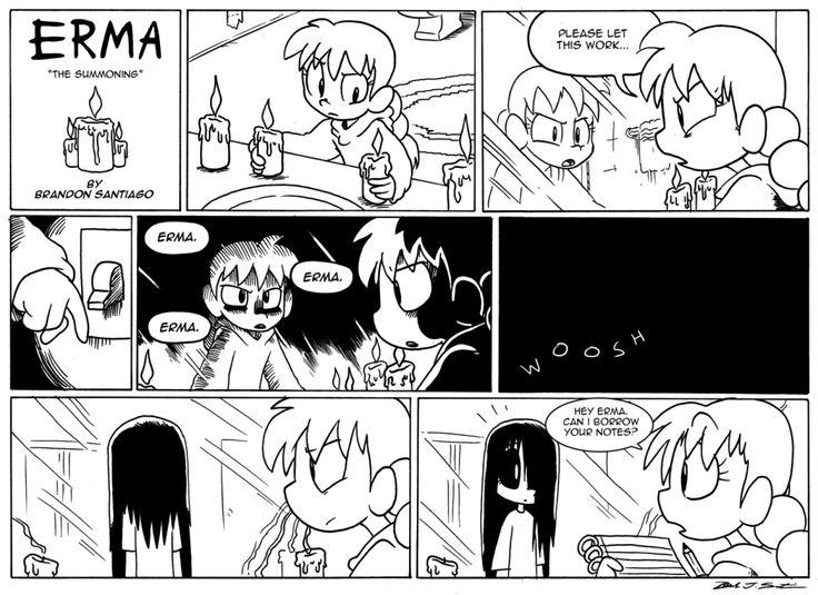 'Erma' webcomic will brighten your Halloween - Nerd Underground
