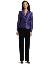 Lesuit Womens Shimmer Pant Suit