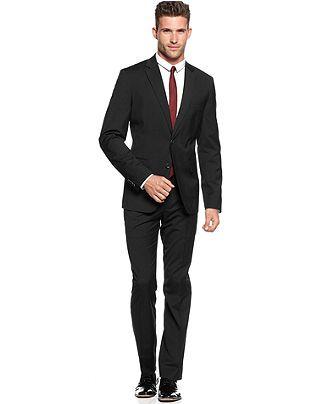American Rag Suit, Black Sea Suit - Mens Suits & Suit Separates - Macy's