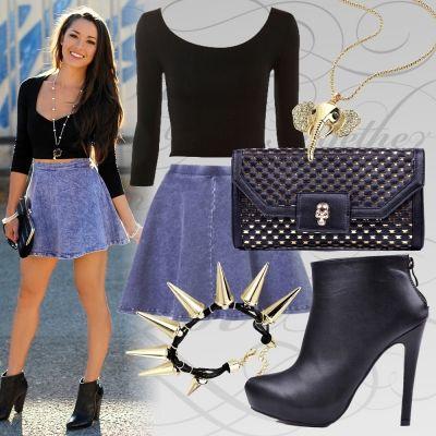 http://mbuty.pl/dla_niej/botki_99-33_obcas_czarne.html #outfit #inspiracje #boots #shoes #buty #mButy