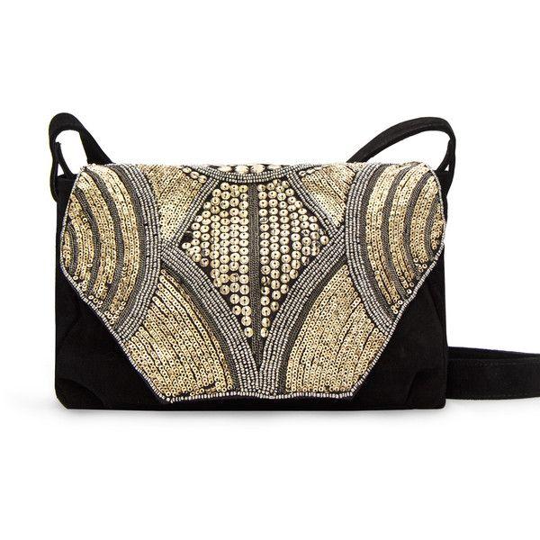 MANGO Handbag ($120) ❤ liked on Polyvore