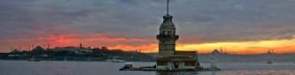 Turkish Sayings - picture is Maiden Tower / Leander's Tower