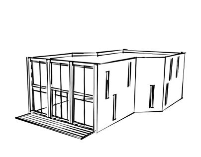 """Check out new work on my @Behance portfolio: """"DETACHED HOUSE 