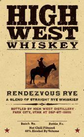 Spirits | High West | Craft Whiskey | Park City Distillery |