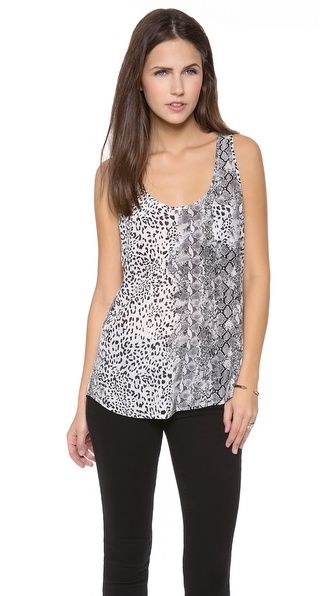 Gorgeous Rain B animal print top perfect when paired with Jbrand skinnys, available in Riant Boutique! #Joie #riantboutique #toronto #shopping #prints #shopping #fun