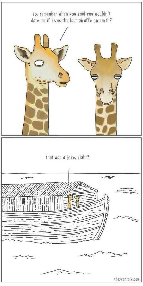 An unexpected consequence of Noah's Ark | Christian Funny Pictures - A time to laugh