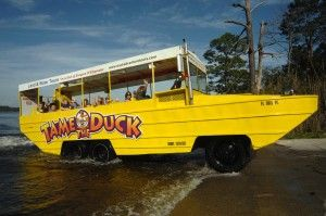 duck boat tours - in and out of the water, a duck boat tour is a great way to see the city