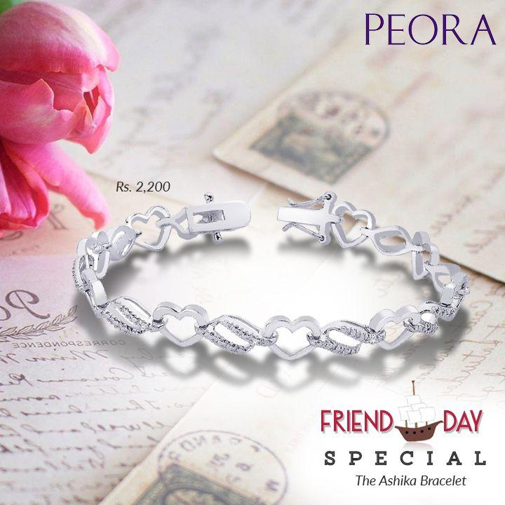 The best way to celebrate #friendshipsday! Ashika #bracelet at a great price! http://bit.ly/2ahOHwB