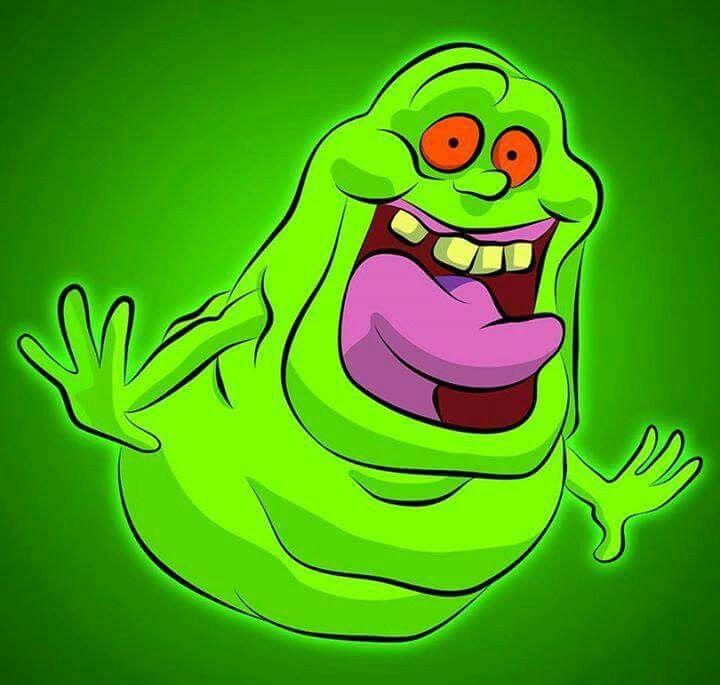 Ghostbusters fantasma verde