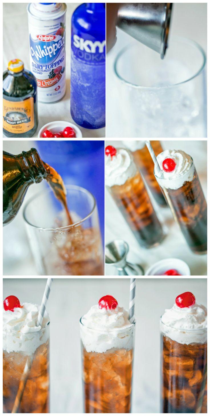 Voot Beer {Vodka + Root Beer}: Vootbeer, Beer Recipe
