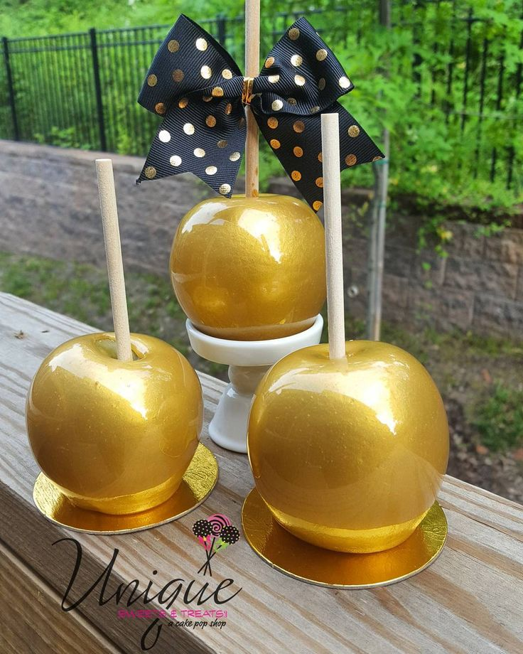 GOLD Candy Apples                                                                                                                                                                                 More