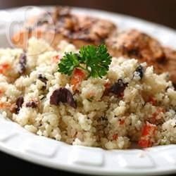 Cauliflower 'Couscous' Salad @ allrecipes.com.au