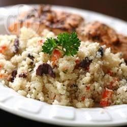 Cauliflower 'Couscous' Salad @ allrecipes.com.au