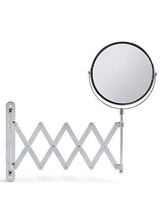 Round Extendable Mirror. Extendable MirrorsBathrooms