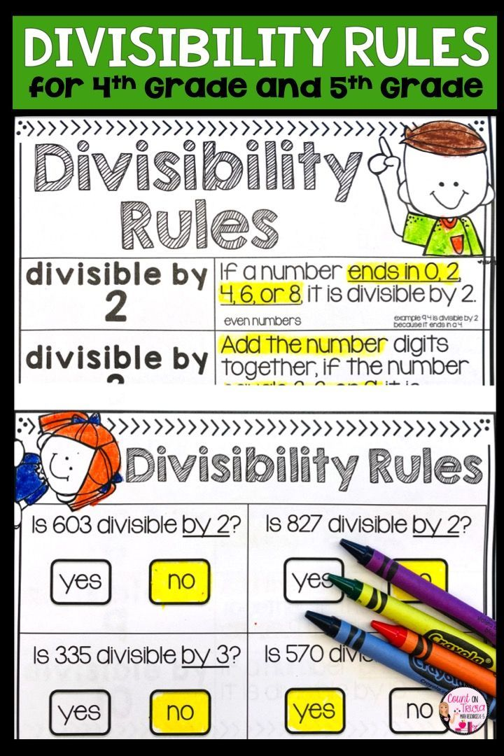 Divisibility Rules Division Worksheets 4th Grade Math Divisibility Rules Divisibility Rules Worksheet Divisibility Rules Activities