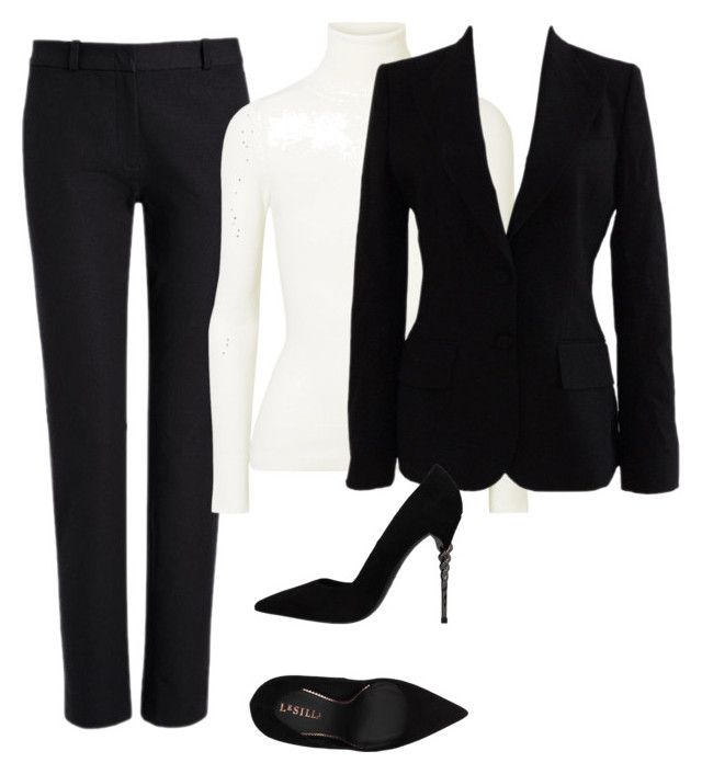 """""""2"""" by explorer-14916524201 on Polyvore featuring Joseph, JoosTricot, Dolce&Gabbana and Le Silla"""