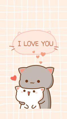 Miauuumor Prrrm Prrrrm Vamos A Comer Pate Y Luego A Mirar Los Pajaros Cute Kawaii Drawings Chibi Cat Cute Cartoon Wallpapers