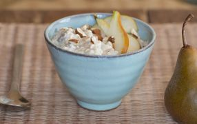 This delicious Pear and Weet-Bix Bircher is packed with the wholegrain goodness of Weet-Bix and rolled oats, a great choice for the whole family!