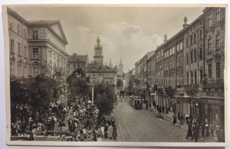 VINTAGE POSTCARDS FOR SALE LVIV UKRAINE OLD POSTCARDS  LWOW POLAND