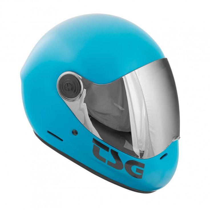 Kaufen TSG Pass Full Face Helmet - Satin auf Europas Sickest Longboard Shop