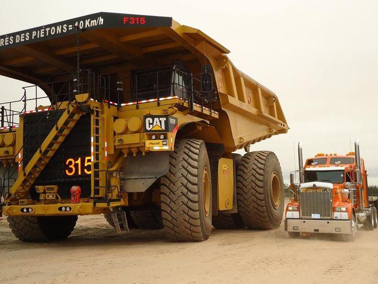 Mining, 400 ton,4000 hp Caterpillar 797F