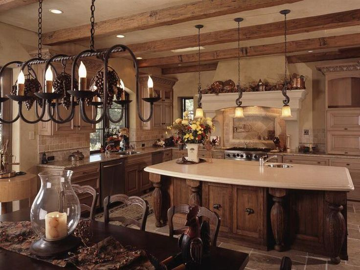 77 best Tuscan home designs images on Pinterest | Kitchen ideas ...