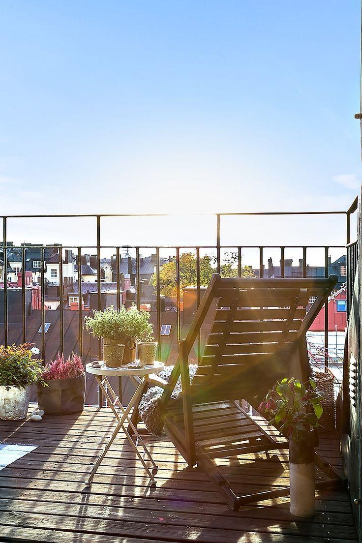 86 best Balkong & Terrass images on Pinterest | Balcony ideas ...