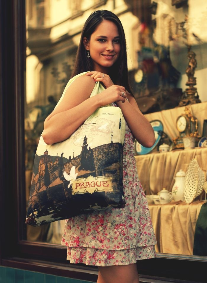 Prague 2 - ecologic bag from ECOZZ #ecozz $9.95