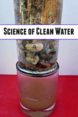 Science of clean water: making your own water filter
