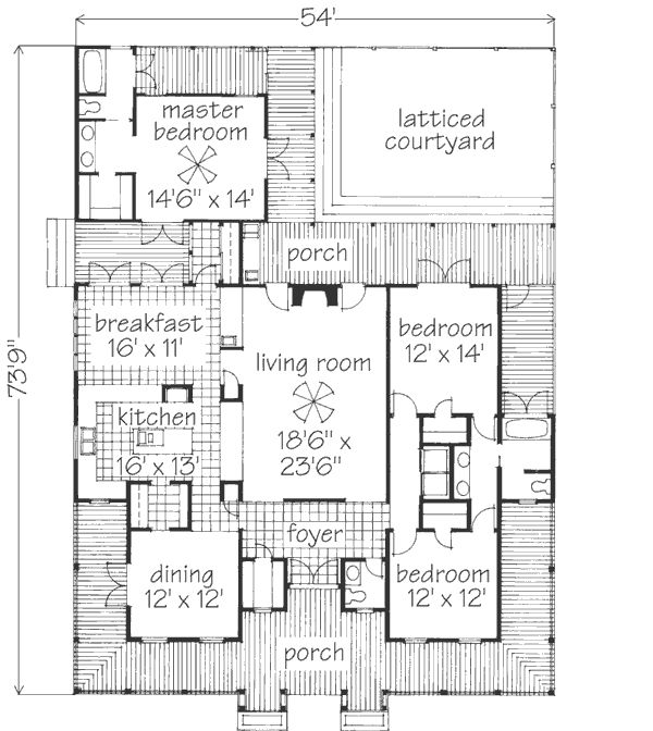 64 best dog trot homes images on pinterest | dog trot house plans