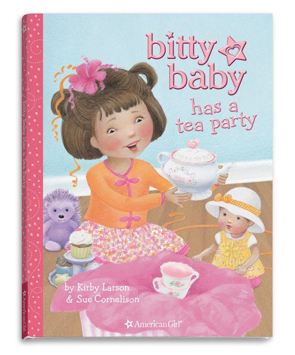 Look at this Bitty Baby Has a Tea Party Book on #zulily today!