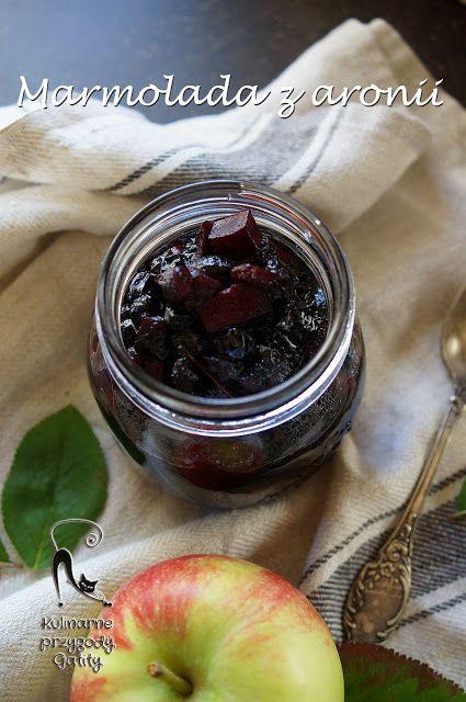 Kulinarne przygody Gatity: Marmolada  z aronii z jablkami