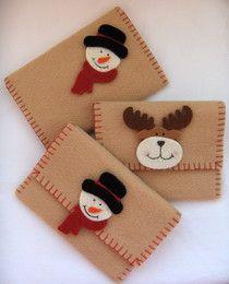 Bonecos de neve e renas - Belabijoux