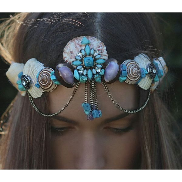 blue gypsy crown 128 liked on polyvore featuring home home decor