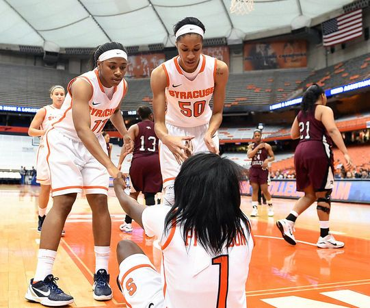Briana Day leads the way as No. 20 Syracuse women's basketball crushes North Carolina Central | syracuse.com