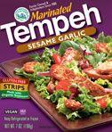 Sesame Garlic Marinated Tempeh. Yum!Vegan Products, Sesame Garlic, Tempeh Sesame, Garlic Marines, Food Products, Marines Tempeh, Vegan Food, Sesame Knoblauch Tempeh, Garlic Tempeh
