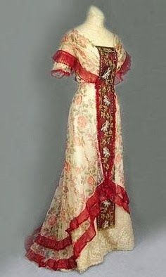 i love historical clothing: Edwardian dresses