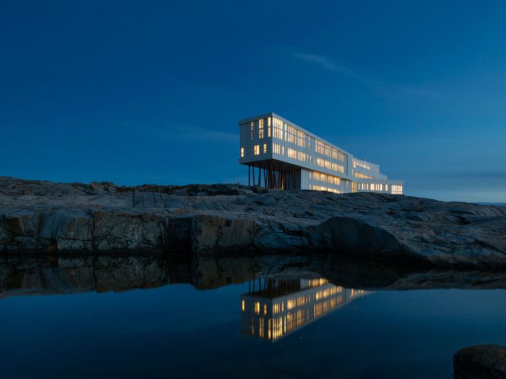 Fogo Island, CanadaFogo Island is accessible from the Northeast Coast of Newfoundland by taking a ferry from the appropriately named Farewell dock. As far as remote locations go, this one's definitely at the top of the list