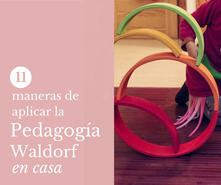 De mi casa ¡al mundo!: Waldorf en casa