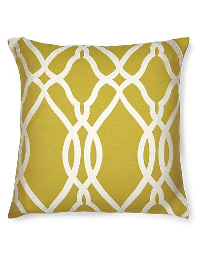 Large Geometric Print Cushion   M&S