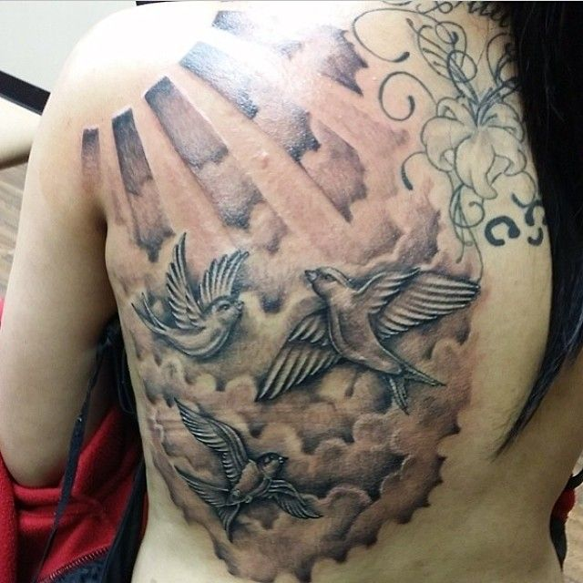 Sun And Cloud Tattoo Meaning
