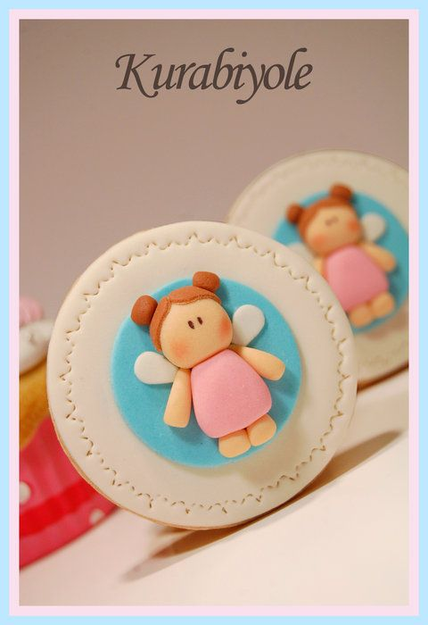 Little Angel.. - by Kurabiyole @ CakesDecor.com - cake decorating website
