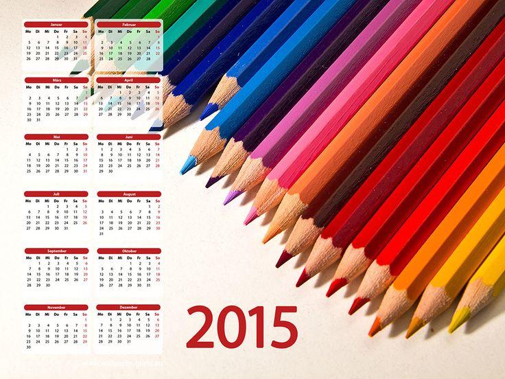 2015 Jahreskalender