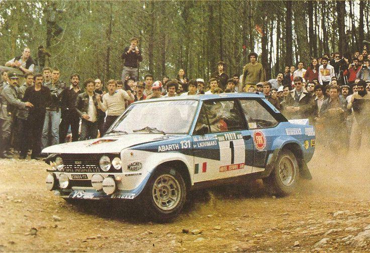 Markku Alén en Portugal, 1981: Ganó y fue 131'erens última victoria.